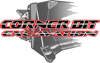 Corner Bit Excavation Logo